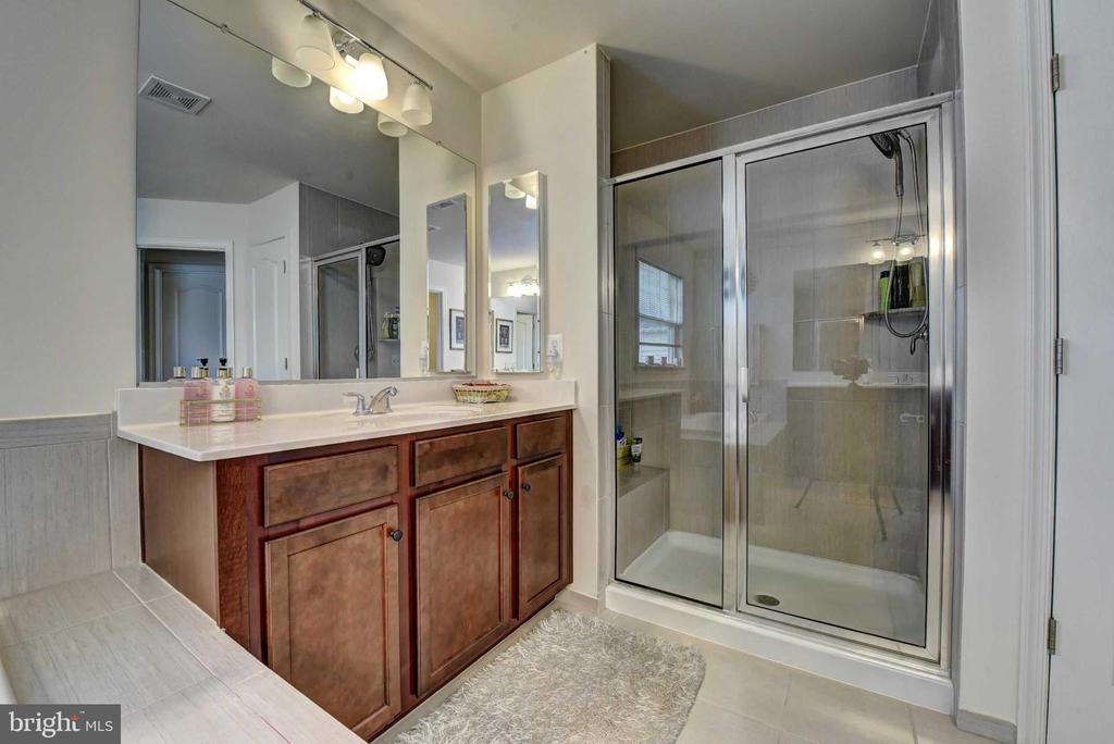 Master Shower - 42340 ABNEY WOOD DR, CHANTILLY