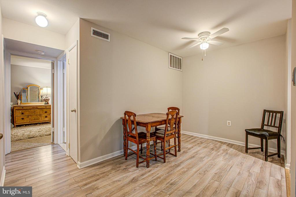 dining room - 10340 REIN COMMONS CT #D, BURKE