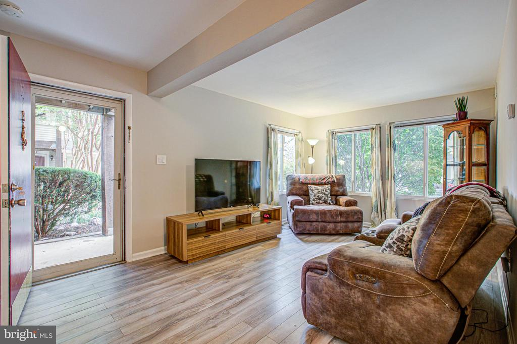 lots of natural light - 10340 REIN COMMONS CT #D, BURKE