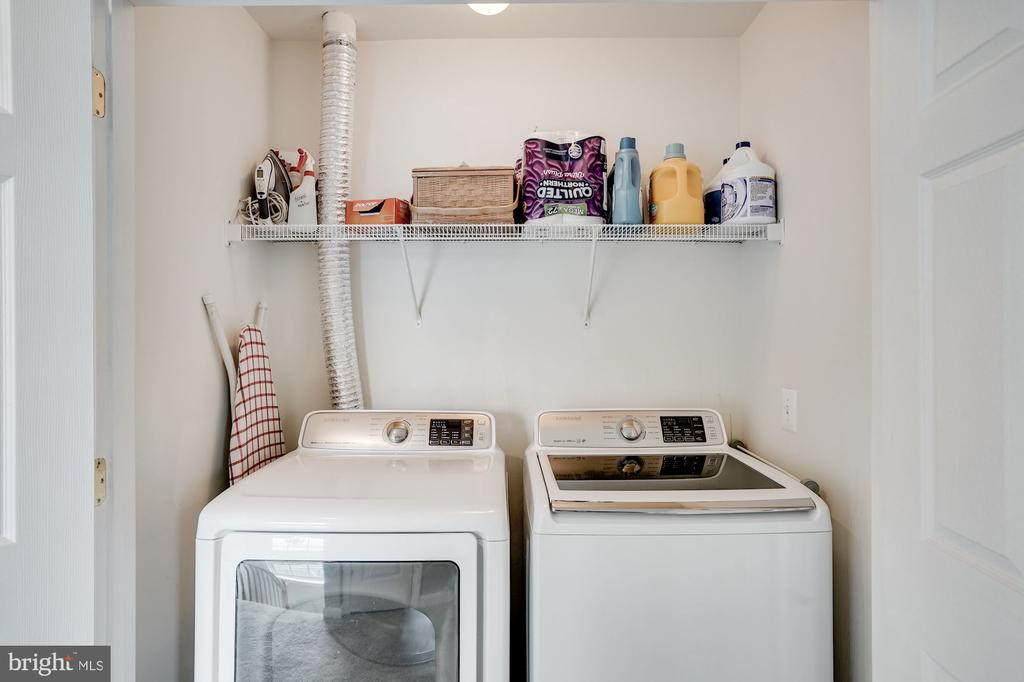 Upper Level - LAUNDRY ROOM (newer 2018) - 18504 PINEVIEW SQ, LEESBURG