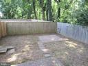 Fenced Backyard - 20 S ABINGDON ST, ARLINGTON