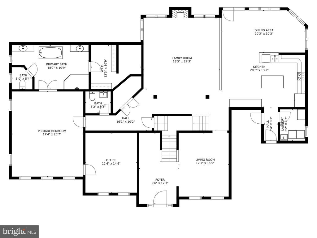 FLOOR PLAN - 108 HIGH RIDGE DR, STAFFORD