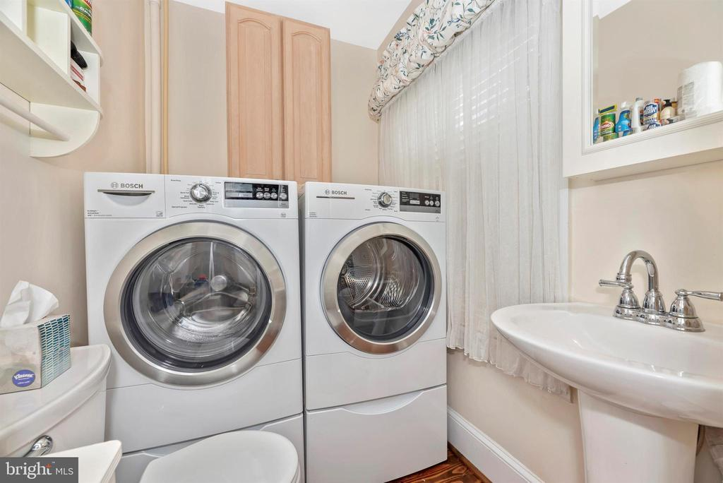 Main Level Powder Room/Laundry Room - 316 W COLLEGE TER, FREDERICK