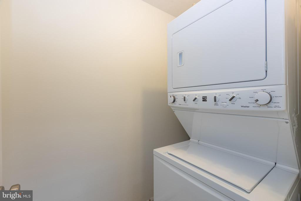 Laundry room - 7502 ASHBY LN #K, ALEXANDRIA