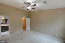 Master bedroom - 7502 ASHBY LN #K, ALEXANDRIA