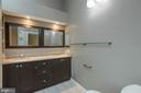 Custom Master bath with skylights - 7502 ASHBY LN #K, ALEXANDRIA