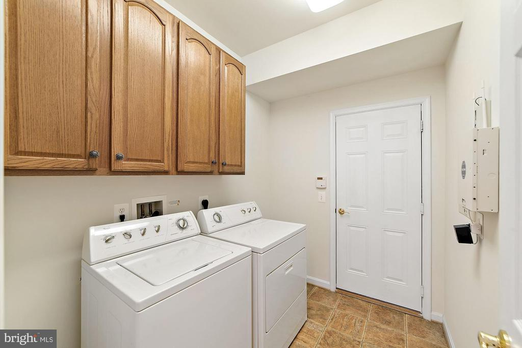 Main level laundry - 3959 GREAT HARVEST CT, DUMFRIES