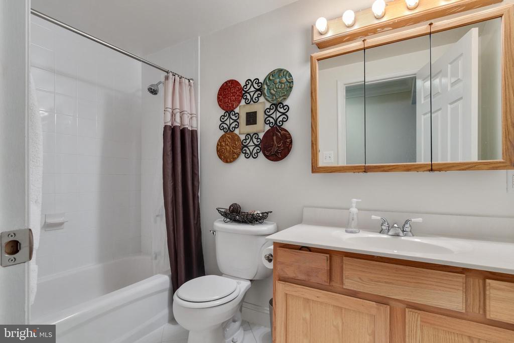 Lower level full bathroom - 802 SE TINA DR SE, LEESBURG