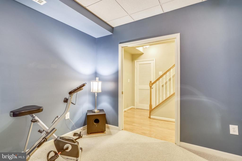 Exercise room - 7132 AYERS MEADOW LN, SPRINGFIELD
