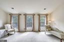 Sitting room w/c can be used in a variety of ways - 7132 AYERS MEADOW LN, SPRINGFIELD