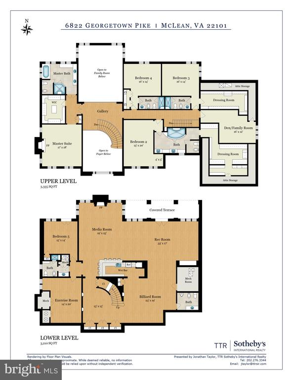 Floor Plan - 6822 GEORGETOWN PIKE, MCLEAN
