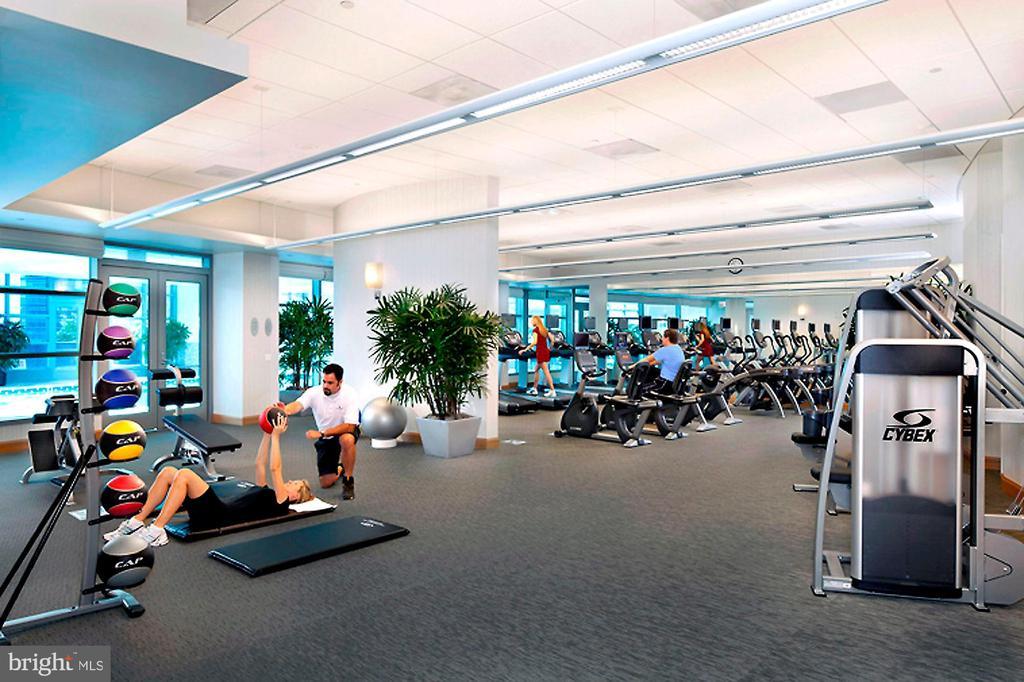 Fitness Center - 1881 N NASH ST #2009, ARLINGTON