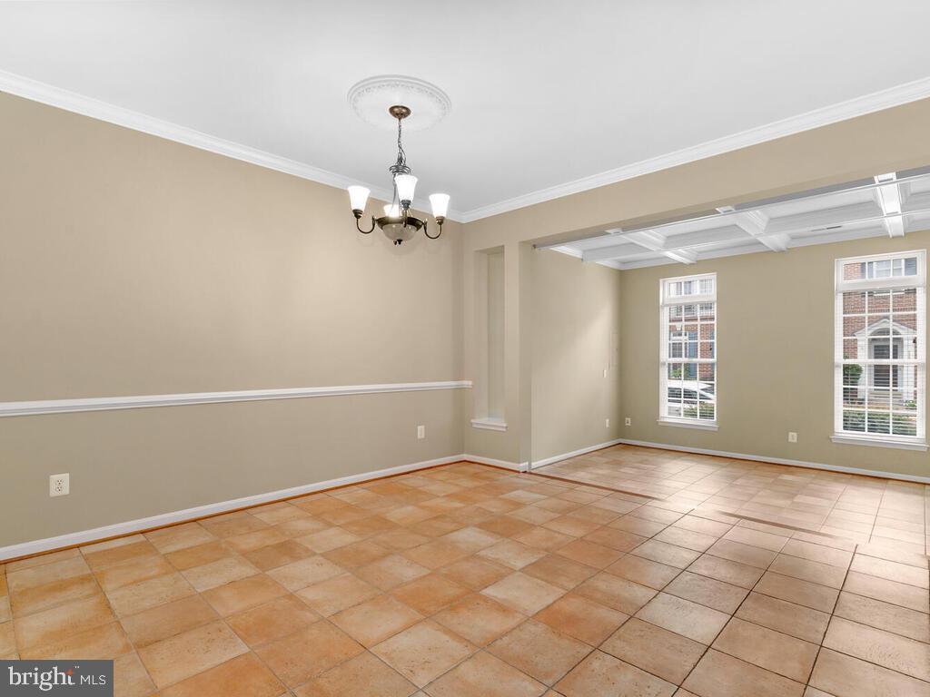 Dining Room - 22950 FANSHAW SQ, BRAMBLETON