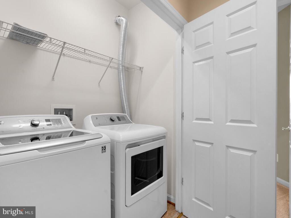 Bedroom Level Laundry Room - 22950 FANSHAW SQ, BRAMBLETON