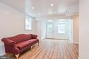Family Room w/ luxury vinyl plank, recessed lights - 2800 N PERSHING DR, ARLINGTON