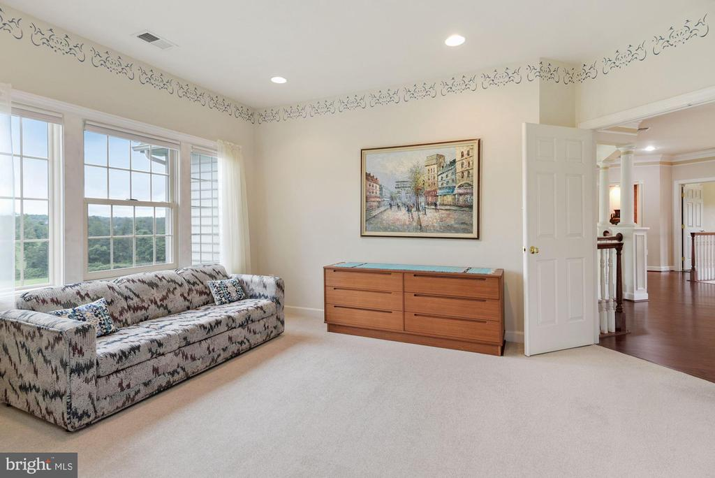 Sitting room angle #2 - 22340 ESSEX VIEW DR, GAITHERSBURG