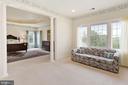 Sitting room off master suite - 22340 ESSEX VIEW DR, GAITHERSBURG