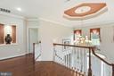 Upper level hallway - 22340 ESSEX VIEW DR, GAITHERSBURG