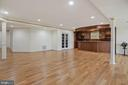 Fully finished lower level - 22340 ESSEX VIEW DR, GAITHERSBURG