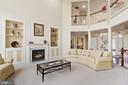 Spectacular two story family room - 22340 ESSEX VIEW DR, GAITHERSBURG