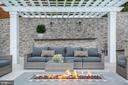 Gas fireplace - 3301 FESSENDEN ST NW, WASHINGTON