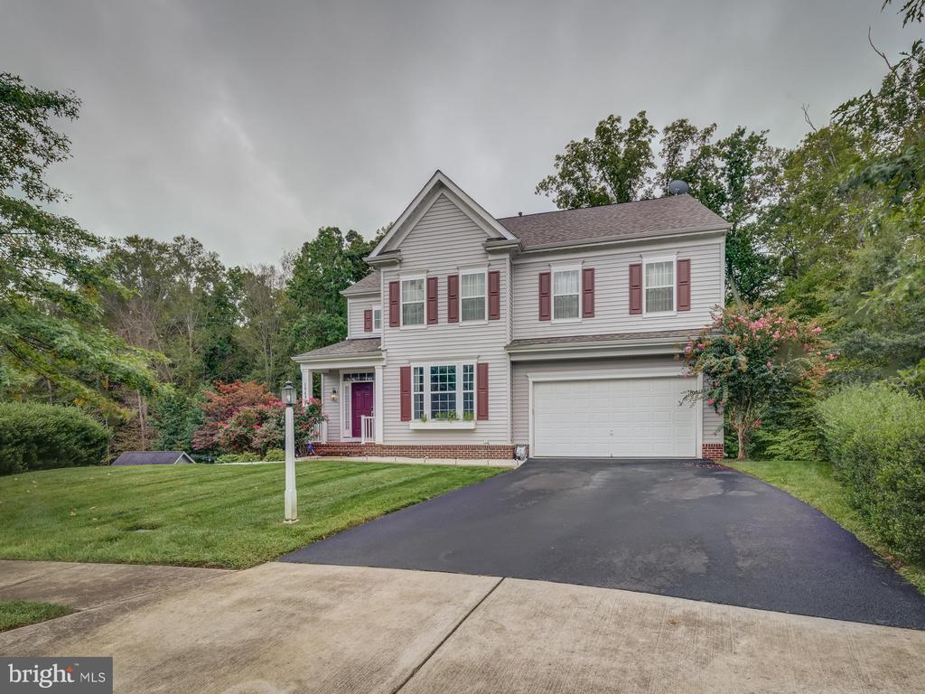 end of culdesac - 16496 CHATTANOOGA LN, WOODBRIDGE
