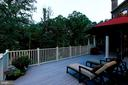 Lounge on this spacious deck - 8225 WOLF RUN SHOALS RD, CLIFTON