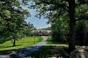 Long private driveway to your oasis - 8225 WOLF RUN SHOALS RD, CLIFTON