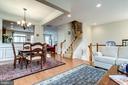 Open Concept Living Space - 2618 S KENMORE CT, ARLINGTON