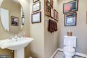 Main Floor Half Bath - 2618 S KENMORE CT, ARLINGTON