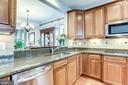 Beautiful Wood Cabinets and Granite Countertops - 2618 S KENMORE CT, ARLINGTON