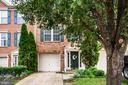 Brick front is elegant and inviting - 10003 GRASS MARKET CT, FREDERICKSBURG