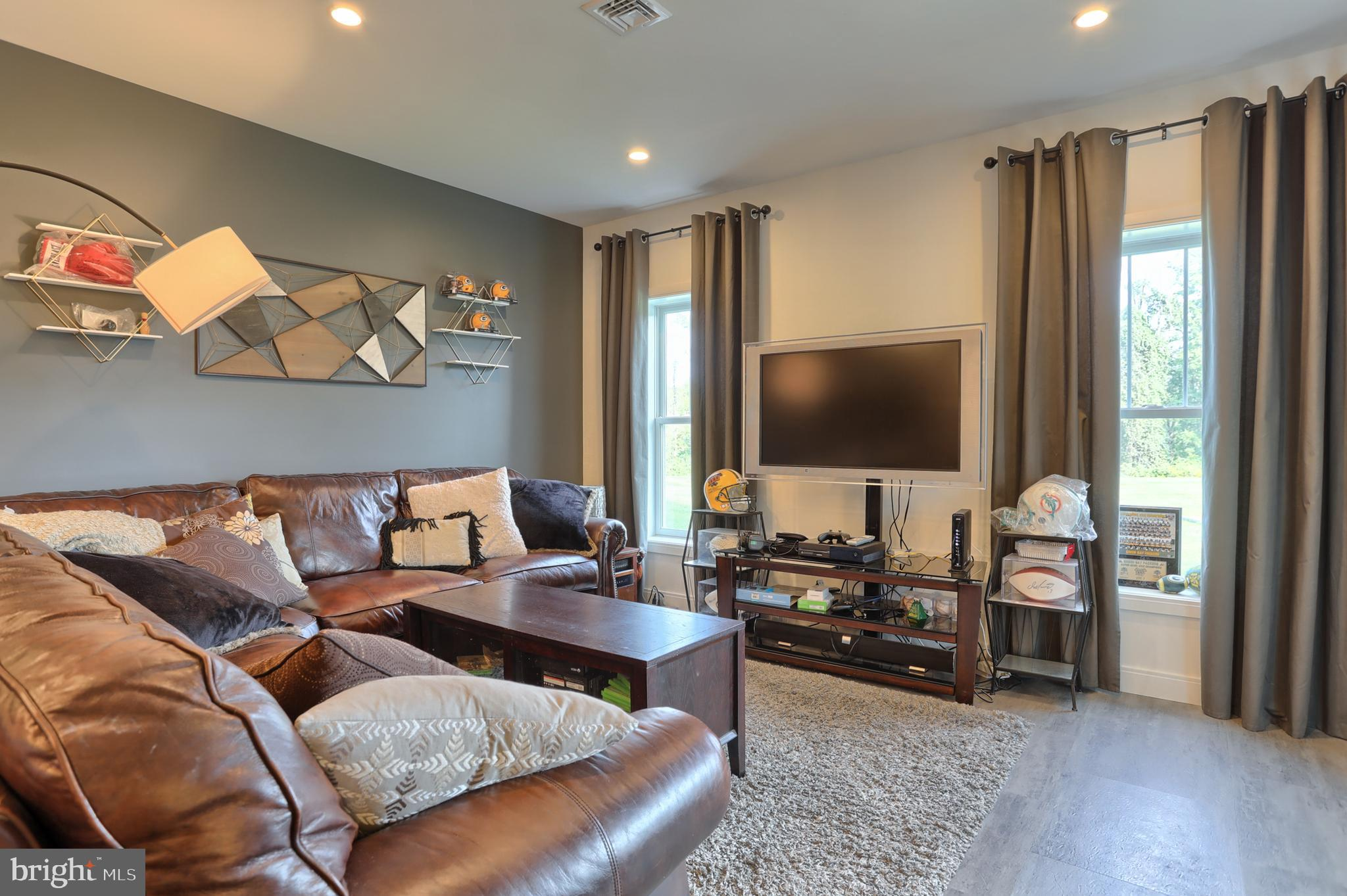 Family room area in LL