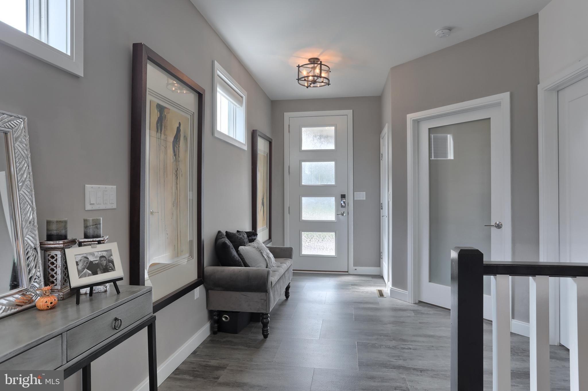 Foyer/entry into home