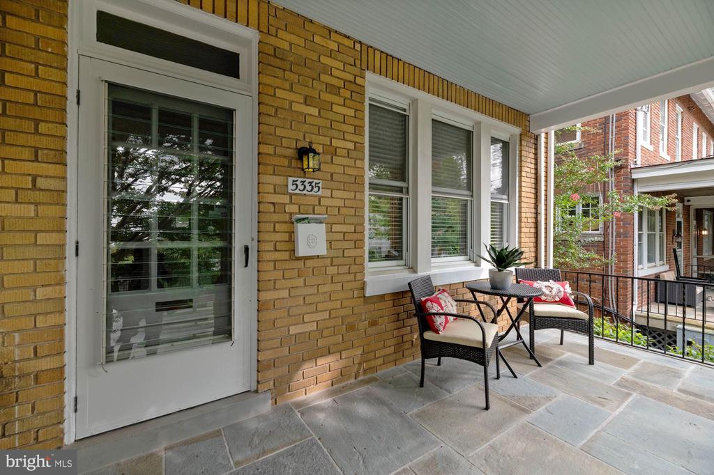 Flagstone Front Porch - 5335 42ND ST NW, WASHINGTON