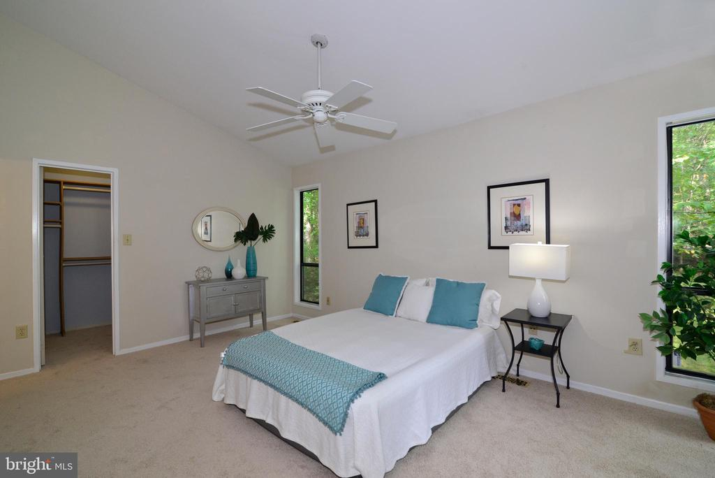 Owner's main level bedroom - 11137 GLADE DR, RESTON