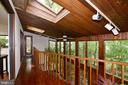 Catwalk and skylight - 11137 GLADE DR, RESTON