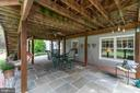 Walk out patio - 46476 MONTGOMERY PL, STERLING