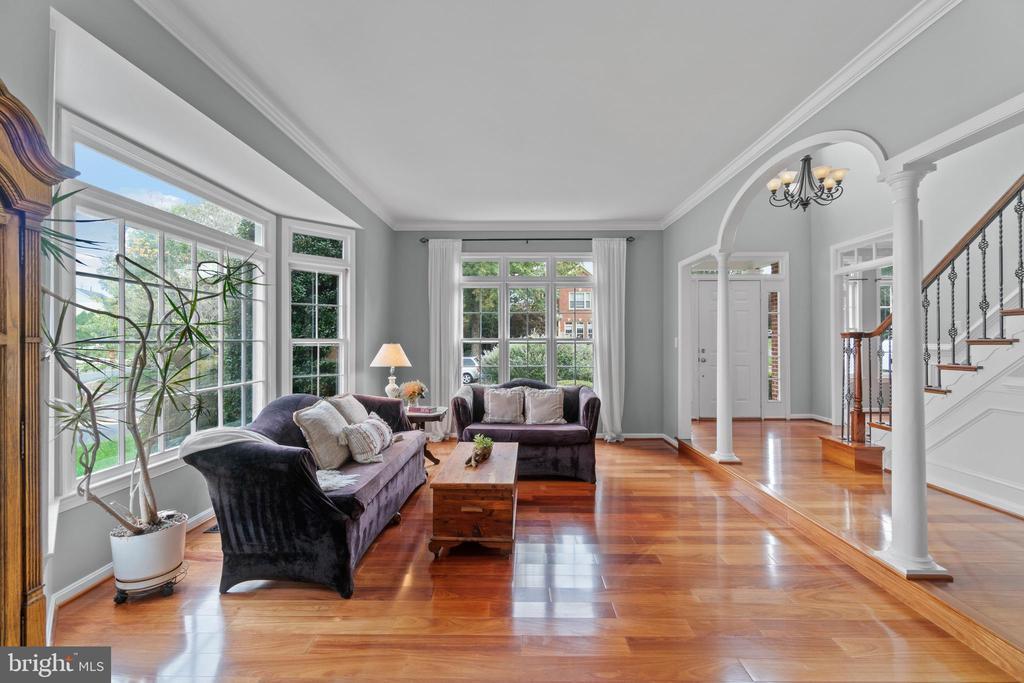Living room - 46476 MONTGOMERY PL, STERLING