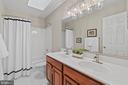 Upper level hall bath - 46476 MONTGOMERY PL, STERLING