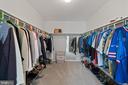 Master bedroom walk in closet - 46476 MONTGOMERY PL, STERLING