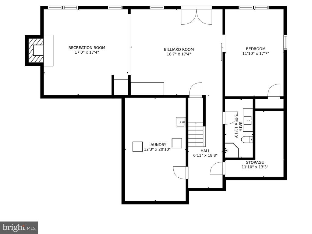 Lower level - 46476 MONTGOMERY PL, STERLING