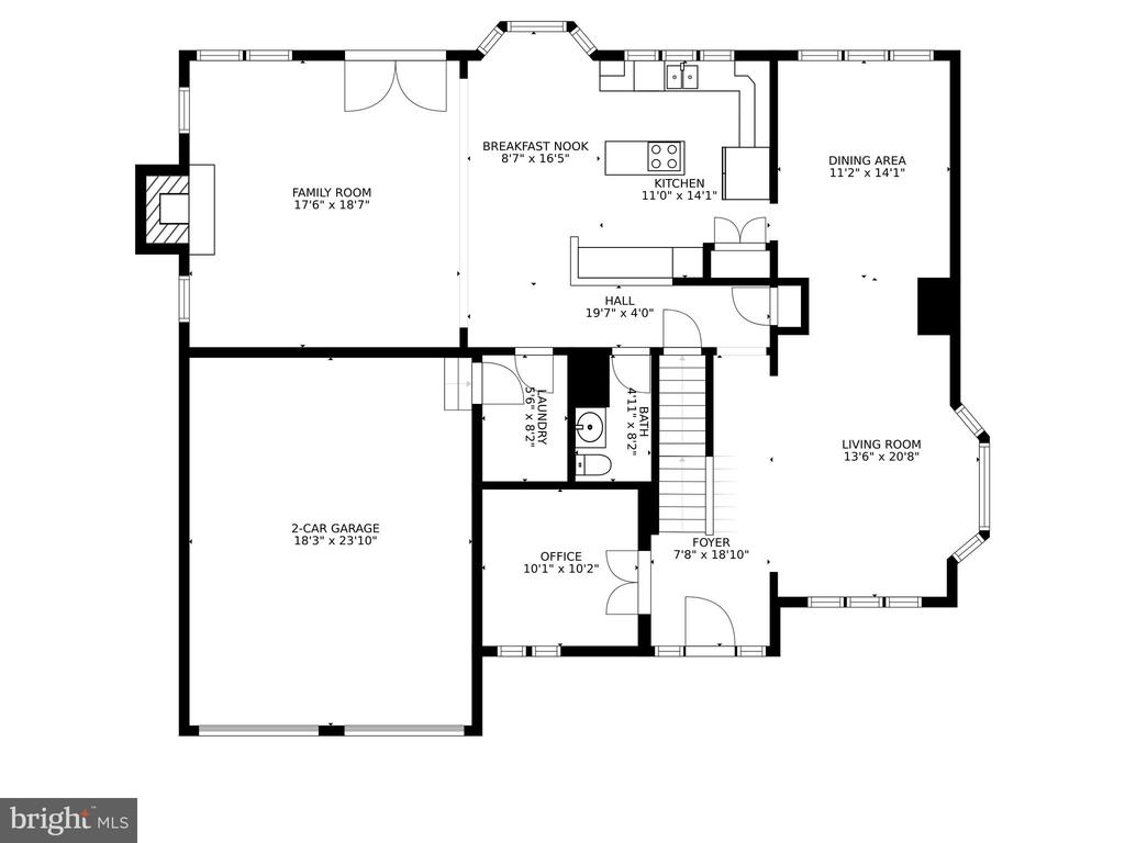 Main level - 46476 MONTGOMERY PL, STERLING