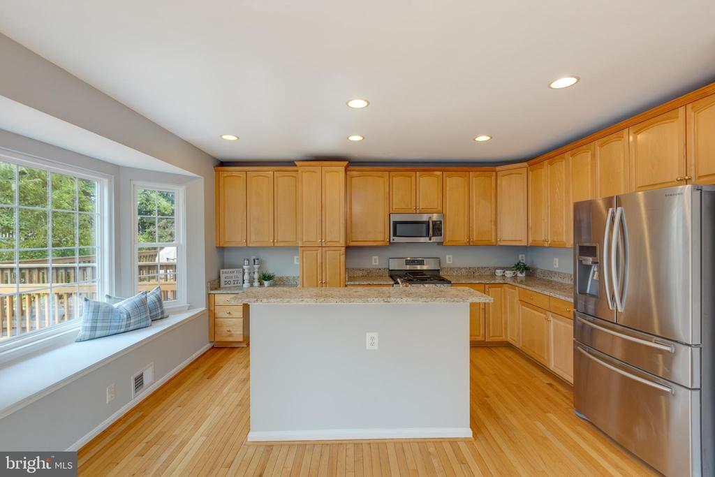 Stainless Steel appliances - 4772 BIDEFORD SQ, FAIRFAX