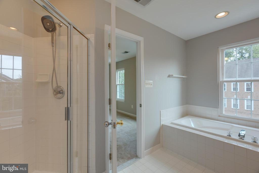 Soaking tub & shower - 4772 BIDEFORD SQ, FAIRFAX