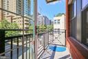Balcony - 1411 KEY BLVD #311, ARLINGTON