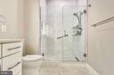 Master Bathroom - upgraded shower &  faucets - 1411 KEY BLVD #311, ARLINGTON