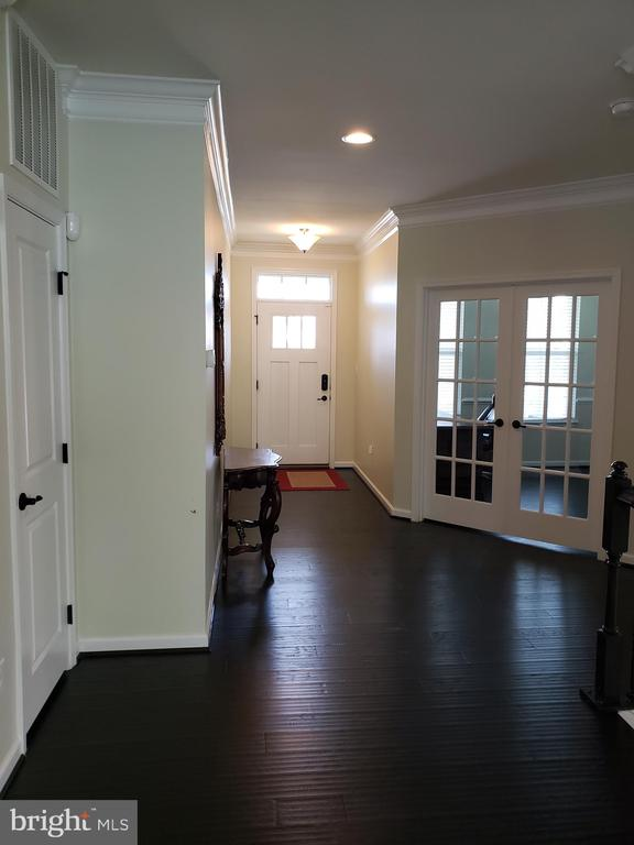 FOYER AND OFFICE FRENCH DOORS - 12409 MAYS QUARTER RD, WOODBRIDGE