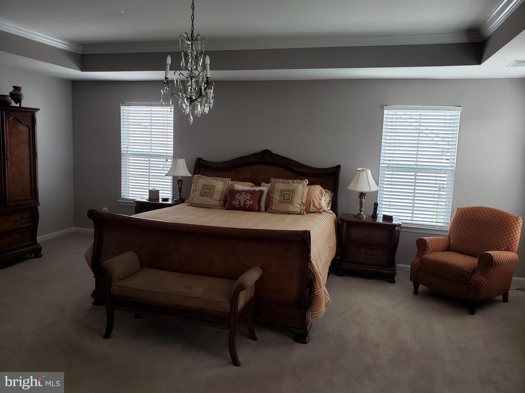 MASTER BEDROOM VIEW - 12409 MAYS QUARTER RD, WOODBRIDGE