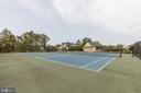 Association tennis courts - 24083 AUDUBON TRAIL DR, ALDIE